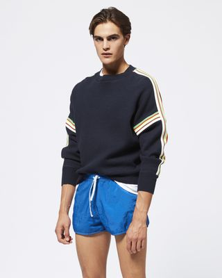 ISABEL MARANT LONG SLEEVE JUMPER Man NELSON jumper r