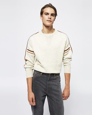 ISABEL MARANT LONG SLEEVE SWEATER Man NELSON sweater r