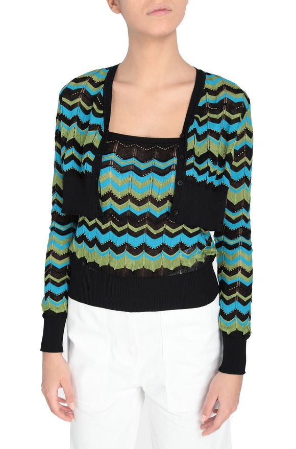 M MISSONI Jumper Woman, Rear view