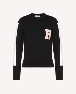 REDValentino Knit Sweater Woman RR3KCA01DTM 0NO a