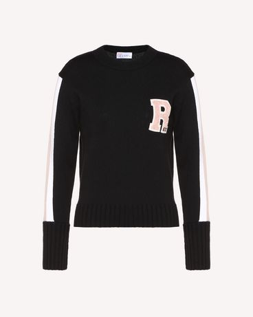 REDValentino RR3KCA09JPN 0NO Knit Sweater Woman a