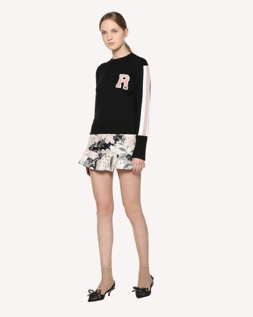 REDValentino RR3KCA09JPN 0NO Knit Sweater Woman d