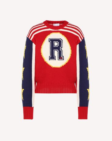 REDValentino RR3KCA11KPV D05 Knit Sweater Woman a