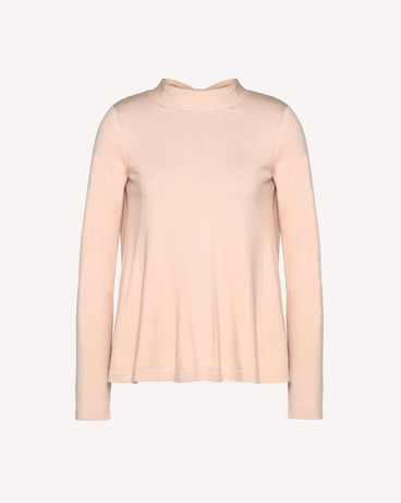 REDValentino RR3KCA63ILK 377 Knit Sweater Woman a