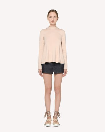 REDValentino RR3KCA63ILK 377 Knit Sweater Woman f