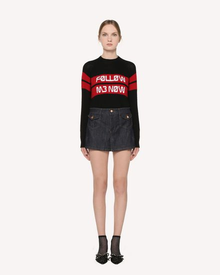 REDValentino Knit Sweater Woman RR3KCA01DTM 0NO f