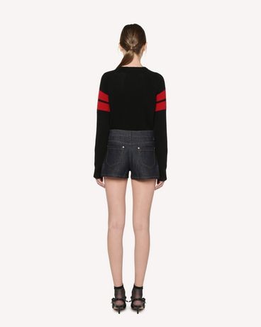 REDValentino RR3KCA01DTM 0NO Knit Sweater Woman r