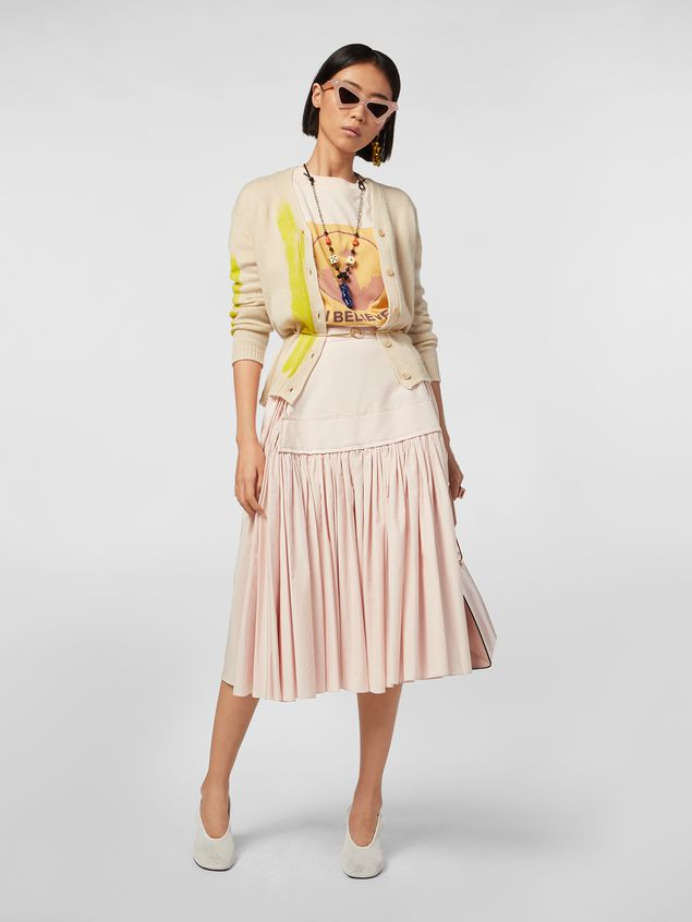 Marni Cardigan in painted cashmere Woman - 5