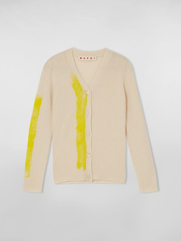 Marni Cardigan in painted cashmere Woman - 2