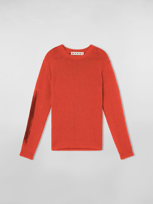Marni Crewneck knit in painted cashmere Woman - 2