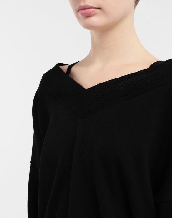 MAISON MARGIELA NewBasic jersey knit pullover V-neck [*** pickupInStoreShipping_info ***] a