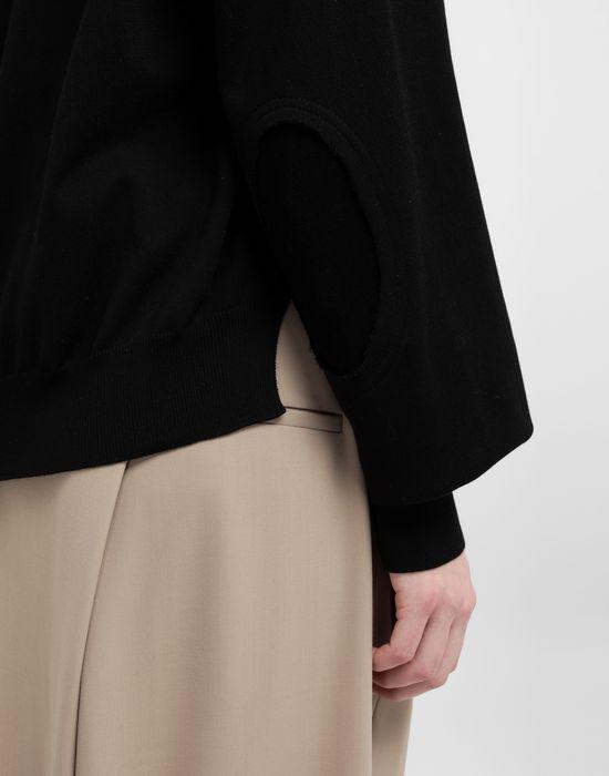 MAISON MARGIELA NewBasic jersey knit pullover V-neck [*** pickupInStoreShipping_info ***] b