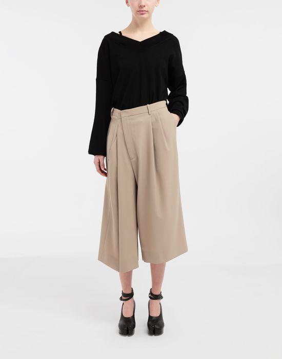 MAISON MARGIELA NewBasic jersey knit pullover V-neck [*** pickupInStoreShipping_info ***] d