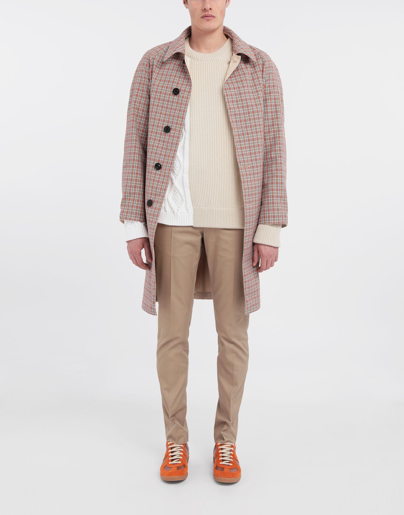 MAISON MARGIELA Spliced knit pullover Crewneck sweater Man d
