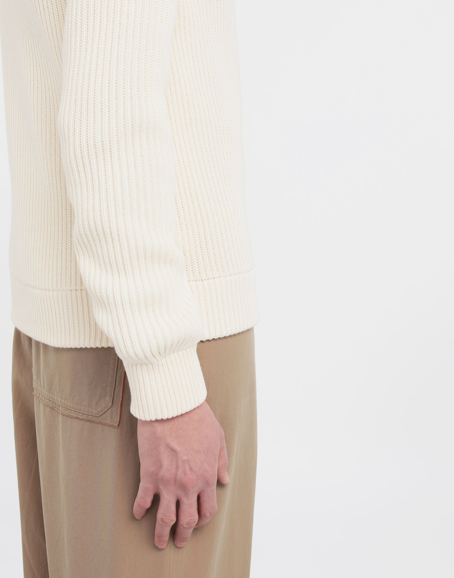 MAISON MARGIELA Zip-up ribbed sweater Cardigan Man b