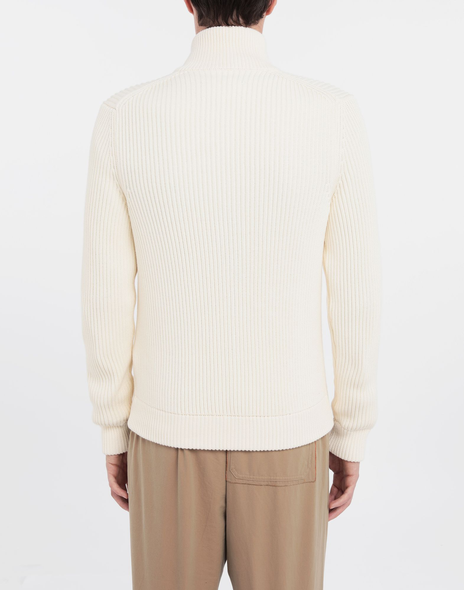 MAISON MARGIELA Zip-up ribbed sweater Cardigan Man e