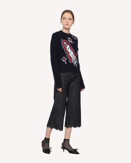 REDValentino Rocket jacquard wool sweater