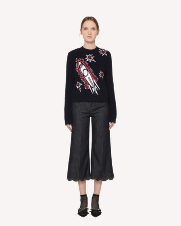 REDValentino RR3KCA24MDQ B01 Knit Sweater Woman f