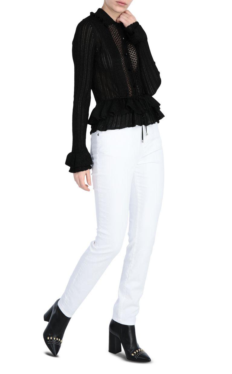 JUST CAVALLI Lurex jumper Sweater Woman d