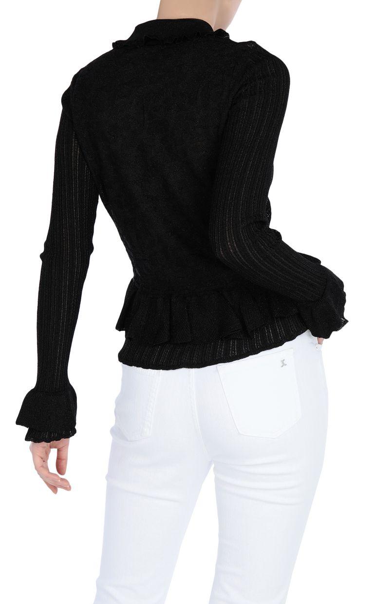 JUST CAVALLI Lurex jumper Sweater Woman r