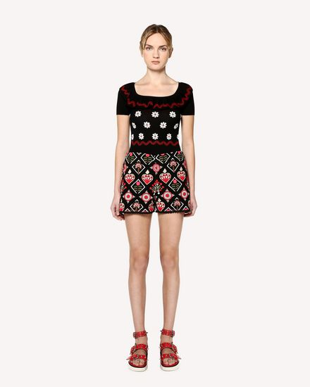 REDValentino Jersey Mujer RR0KCA90KZH WD0 f