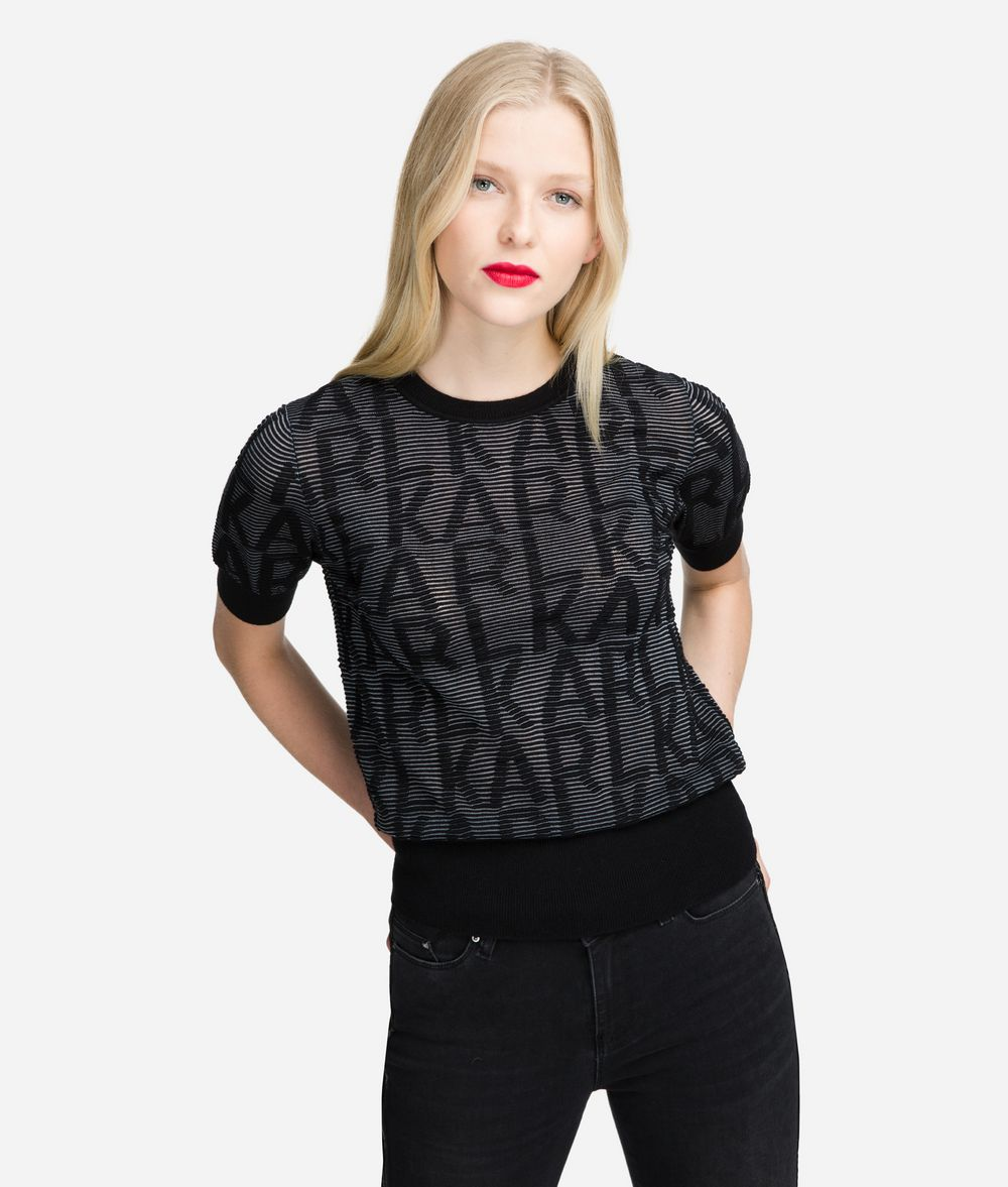 KARL LAGERFELD Karl Logo Jumper Sweater Woman f