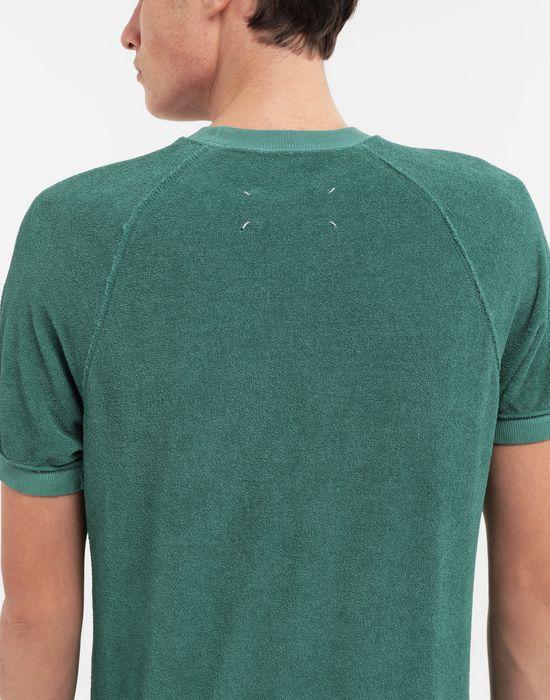MAISON MARGIELA Graphic printed faded T-shirt Sweatshirt [*** pickupInStoreShippingNotGuaranteed_info ***] b