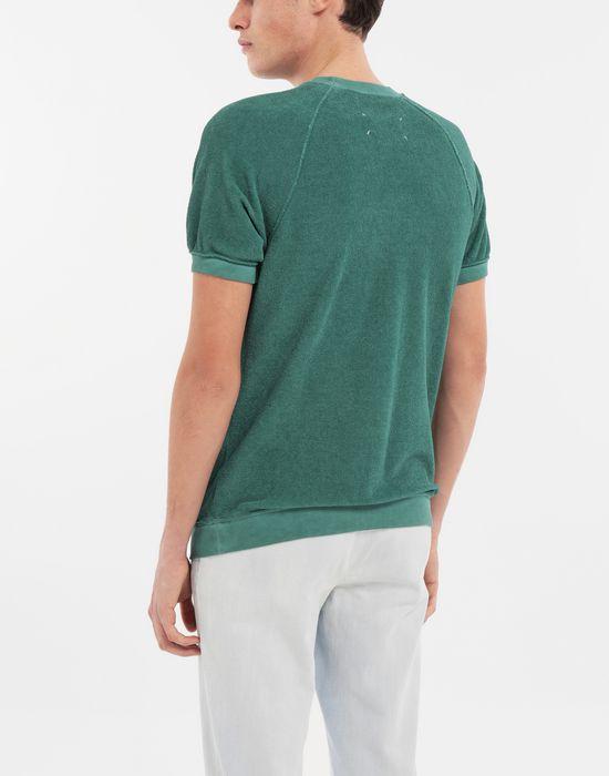 MAISON MARGIELA Graphic printed faded T-shirt Sweatshirt [*** pickupInStoreShippingNotGuaranteed_info ***] e