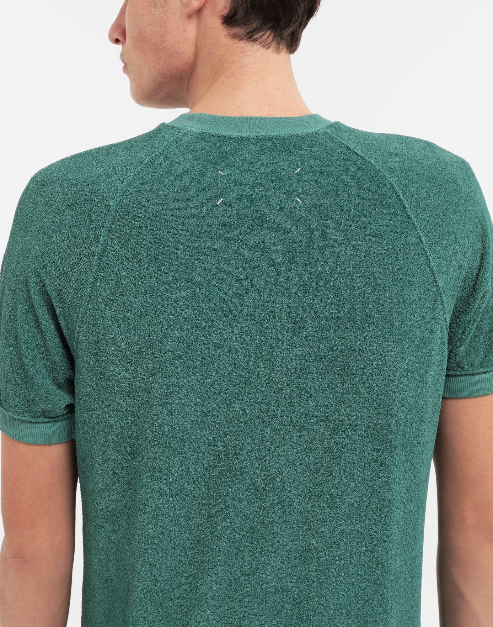 MAISON MARGIELA Graphic printed faded T-shirt Sweatshirt Man b