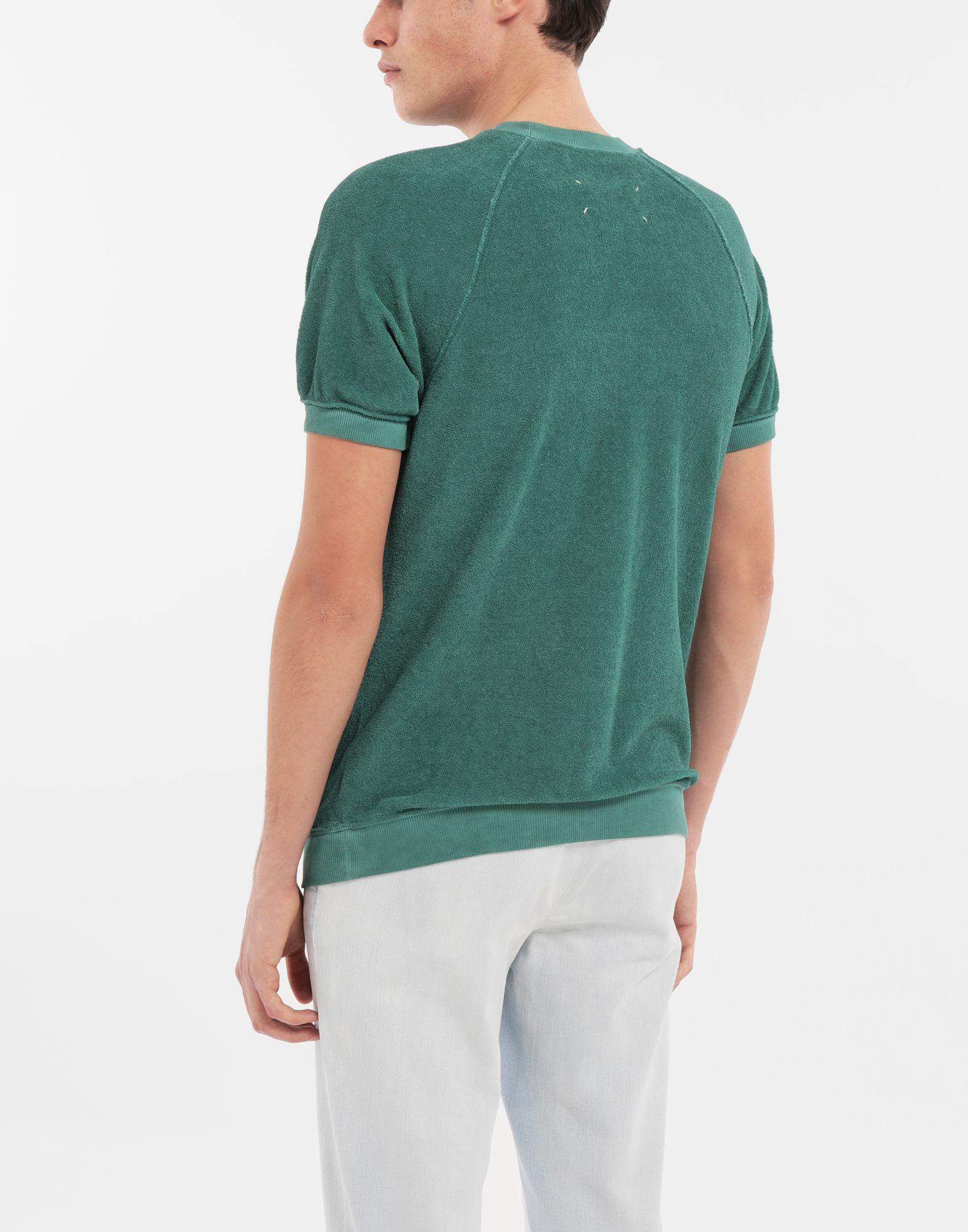 MAISON MARGIELA Graphic printed faded T-shirt Sweatshirt Man e