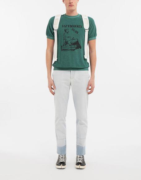 MAISON MARGIELA Graphic printed faded T-shirt Sweatshirt Man d