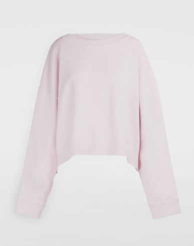 MAISON MARGIELA Oversized boxy-fit sweatshirt Sweatshirt Woman f