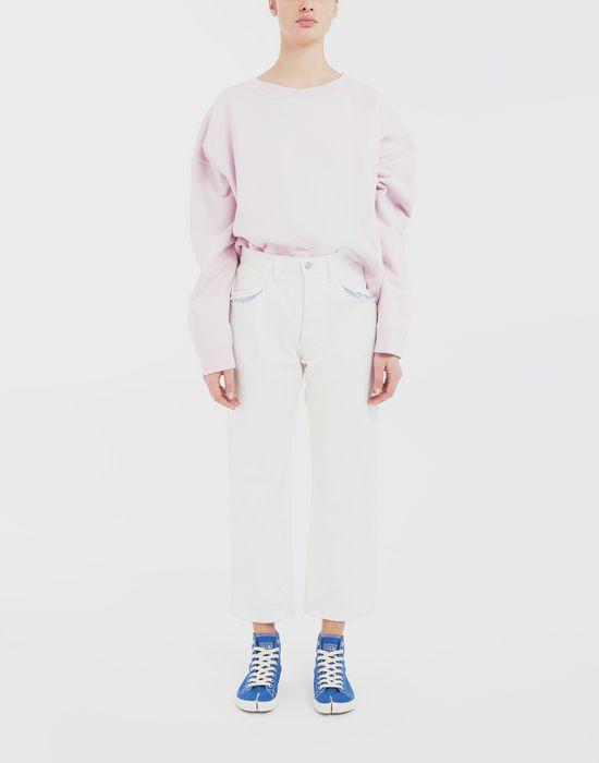 MAISON MARGIELA Oversized boxy-fit sweatshirt Sweatshirt [*** pickupInStoreShipping_info ***] d