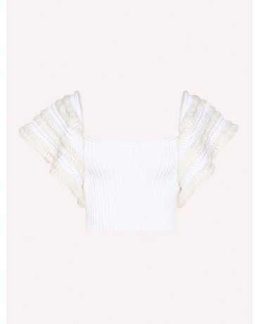 REDValentino RR0KCA83DNH 001 Knit Sweater Woman a