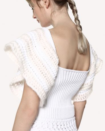 REDValentino RR0KCA83DNH 001 Knit Sweater Woman e