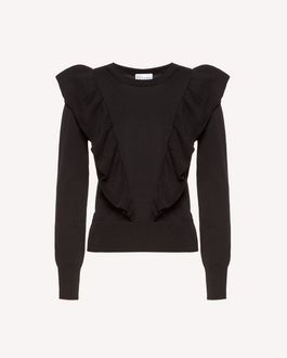 REDValentino Knit Sweater Woman RR3KCA63ILK 377 a