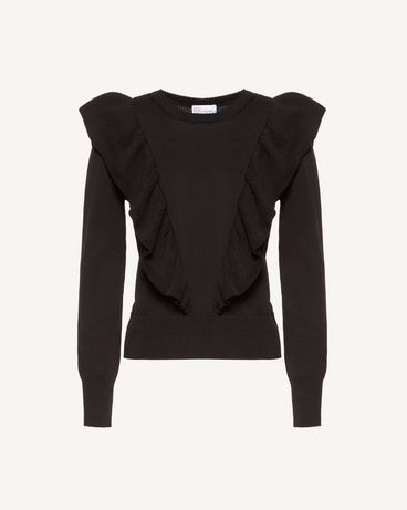 REDValentino RR0KCA55NLQ 0NO Knit Sweater Woman a