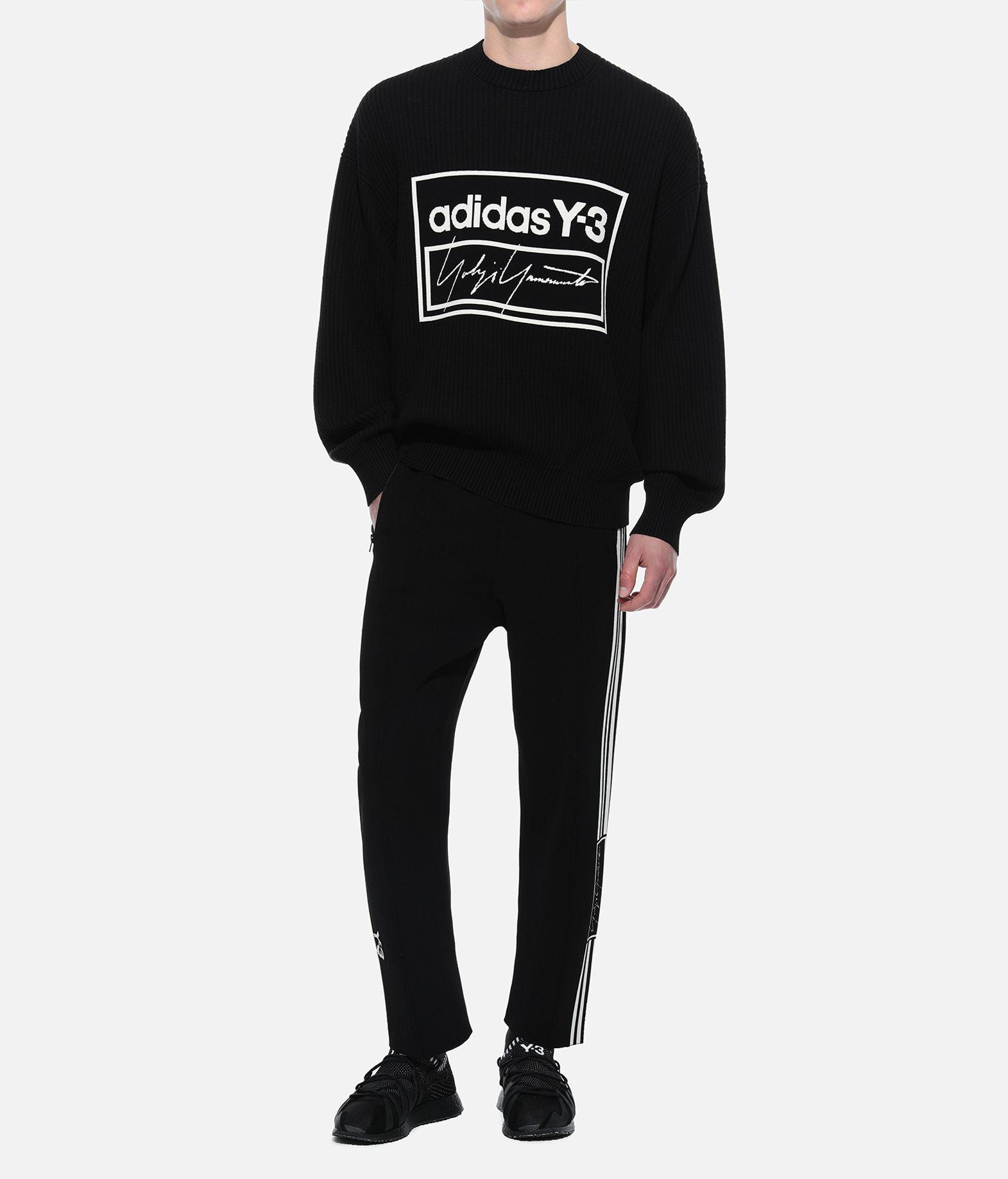 Y-3 Y-3 Tech Knit Crew Sweatshirt Long sleeve sweater Man a