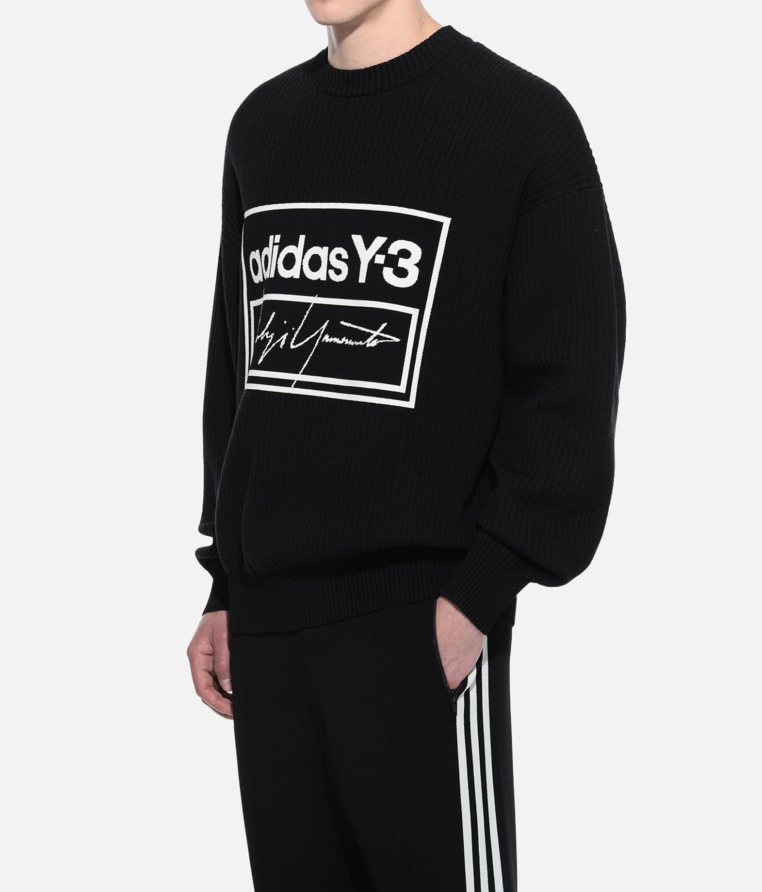 Y-3 Y-3 Tech Knit Crew Sweatshirt Long sleeve sweater Man e