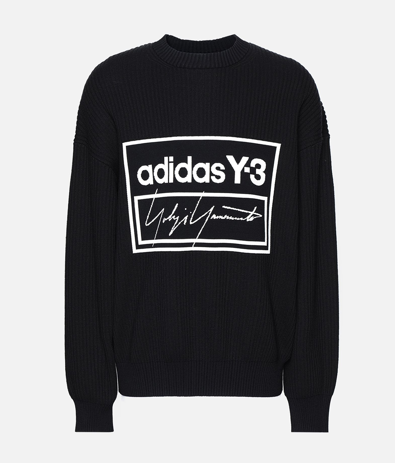 Y-3 Y-3 Tech Knit Crew Sweatshirt Long sleeve sweater Man f