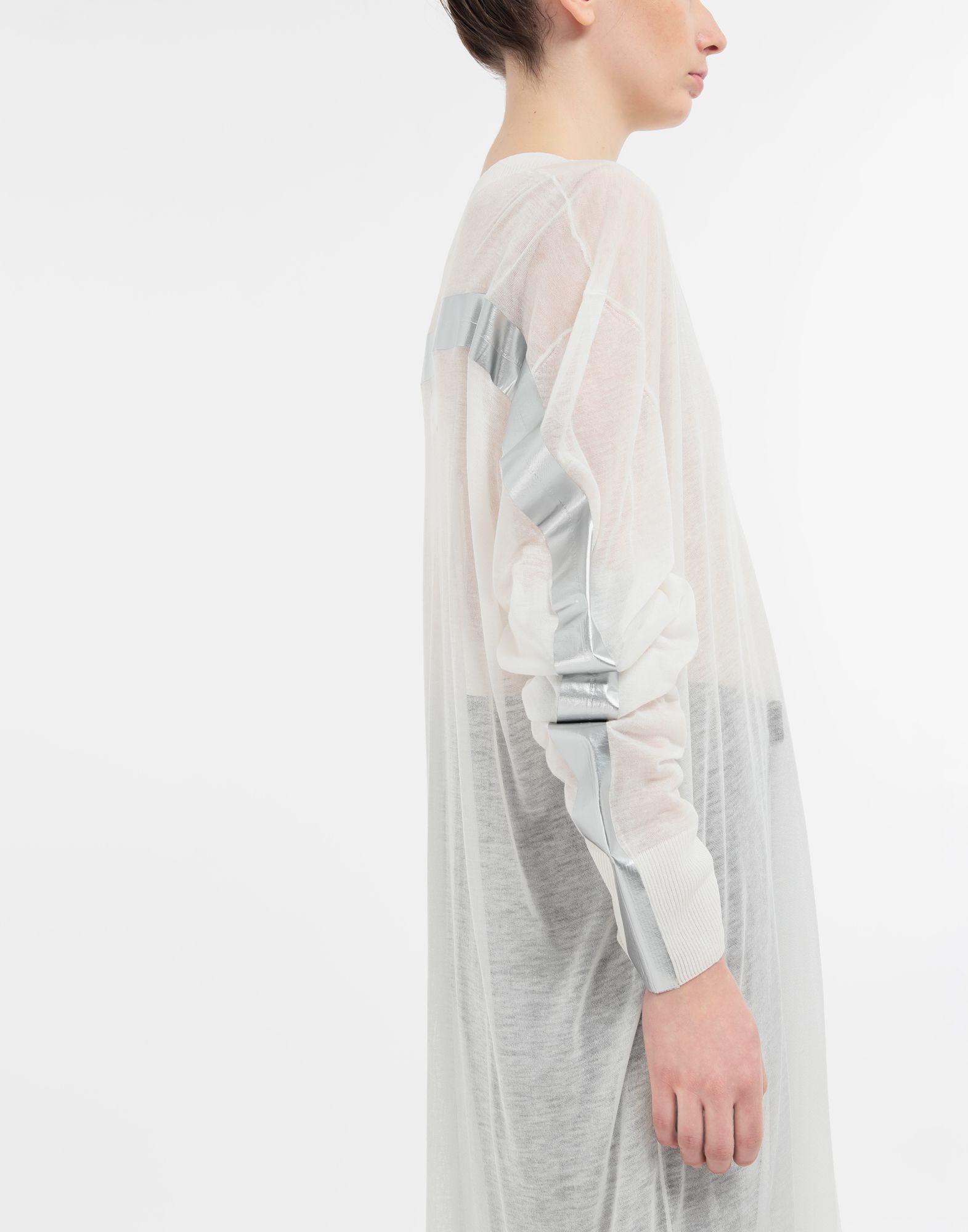 MAISON MARGIELA Knitwear Tape-bonded knit pullover V-neck Woman a
