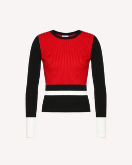 REDValentino Knit Sweater Woman RR0KCA97PNK MM0 a