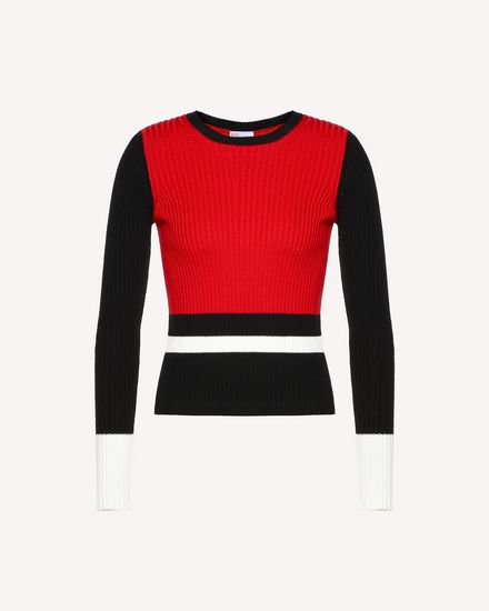 REDValentino Knit Sweater Woman RR0KCA98UTJ VF0 a