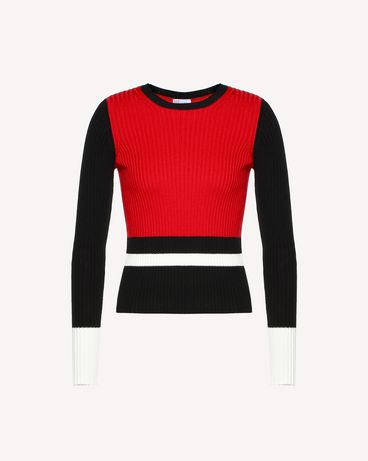 REDValentino RR0KCA98UTJ VF0 Knit Sweater Woman a
