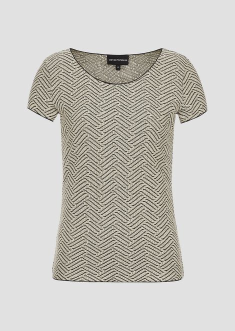 EMPORIO ARMANI Knitted Top Woman r