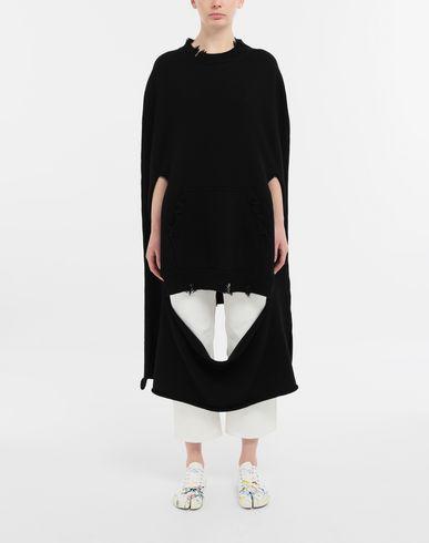 ACCESSORIES Décortiqué distressed knit cape
