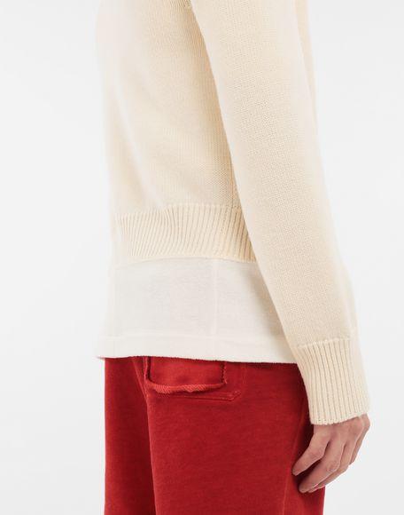 MAISON MARGIELA Spliced knit cardigan jacket Blazer Man b