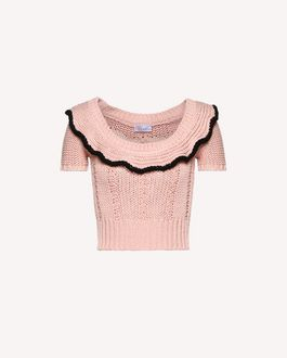 REDValentino Knit Sweater Woman RR0KCA92TBY VB0 a