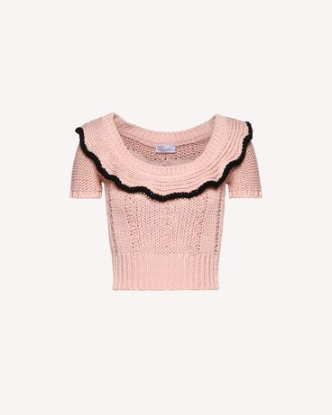 REDValentino RR0KCA86RKT GS7 Knit Sweater Woman a