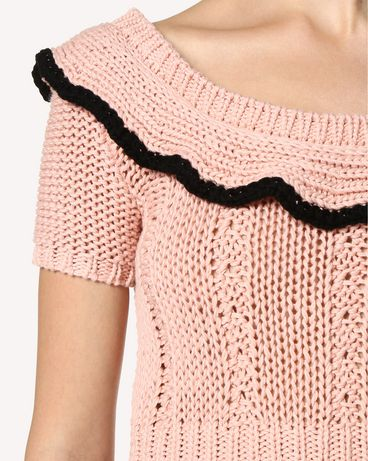 REDValentino RR0KCA86RKT GS7 Knit Sweater Woman e